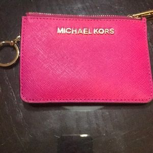 Michael Kors Fushia Wallet